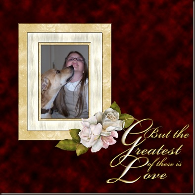 But the greatest of these is love 2 web