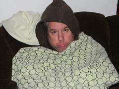Scott: Please turn on the heater?!  Pretty please?