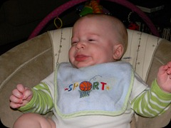 Danny: mid-sneeze!
