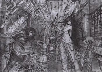 Archaic Melody, dibujo de Shinra
