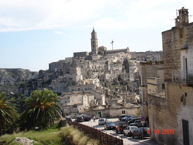 Матера И этот город застыл в эпохе раннего средневековья
