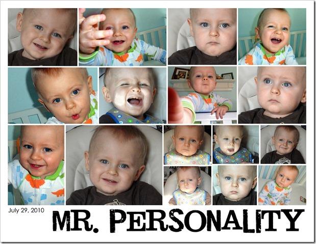 Mr. Personality - July 29, 2010