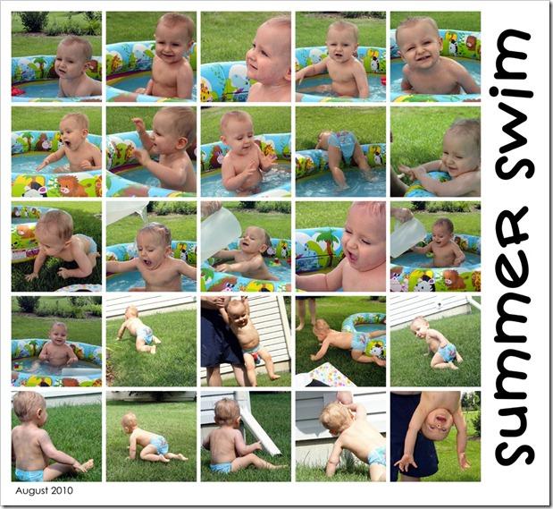 Summer Swim - August 2010