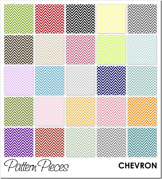 IMAGE - Pattern Pieces - Chevron
