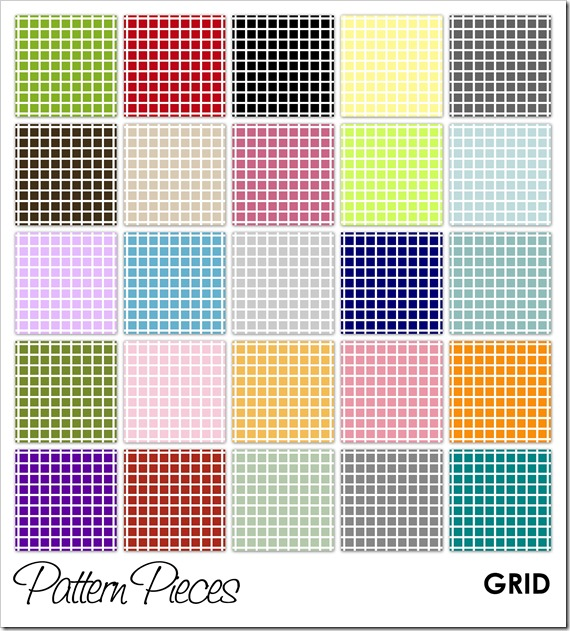 IMAGE - Pattern Pieces - Grid