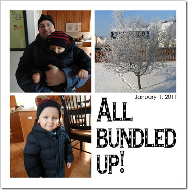 All bundled up! - January 1, 2011