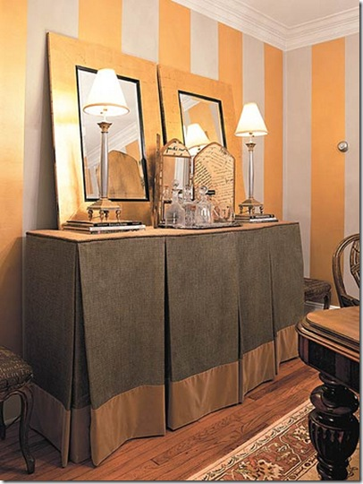 curtain storage.SouthernLivingviatheinspiredroom