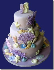 """CUSTOMISED CAKES BY JEN: """"Oceans of Possibilities"""" Seahorse Cake"""