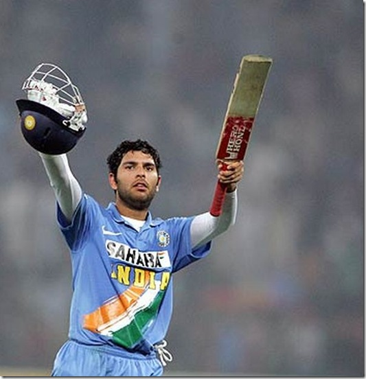 yuvraj singh cenchury