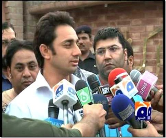 Saeed Ajmal at press confrence