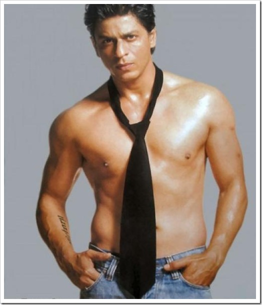 shahrukh khan shirtless pics