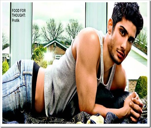 Prateik Babbar shirtless hot