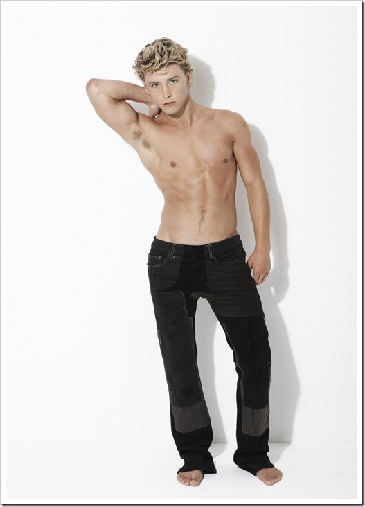shirtless Mitch Hewer