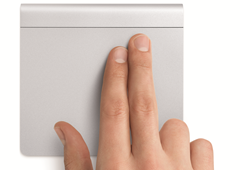 Apple Magic Trackpad - Two finger multi-touch