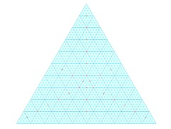 Ternary Graph Paper