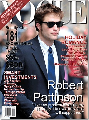 VOGUE Robert Pattinson 2