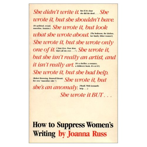 Cover of How to Suppress Women's Writing