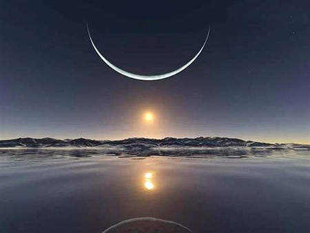 North Pole Sunset
