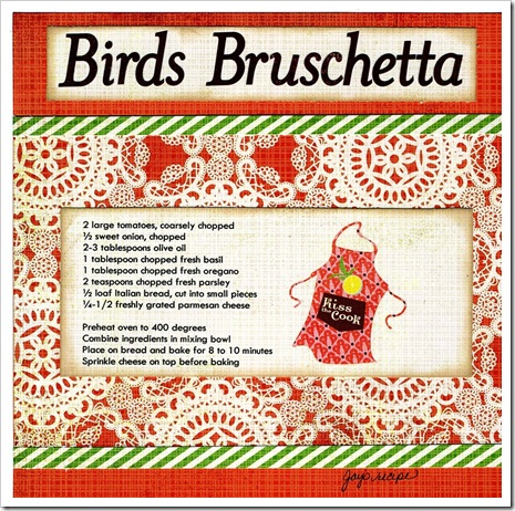 Bird's Bruschetta