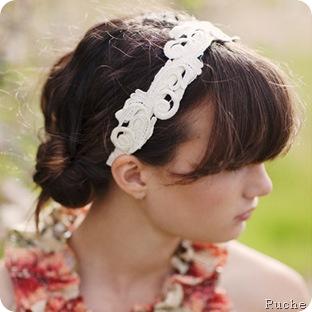 headband - ruche