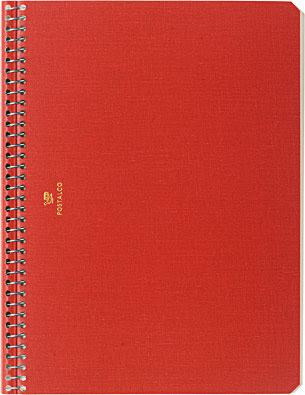 Postalco A5 Pressed Cotton Notebook.jpeg