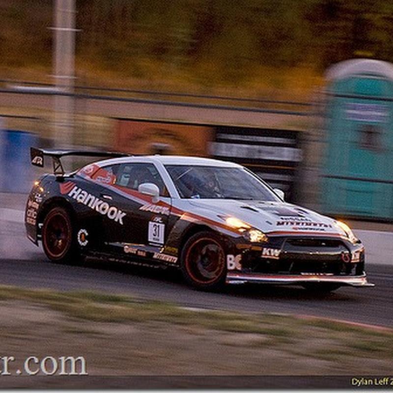 Hankook Nissan GT-R Drifting