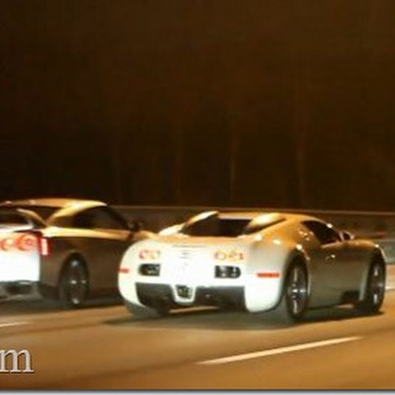 Nissan GT-R vs Bugatti Veyron Teaser Video
