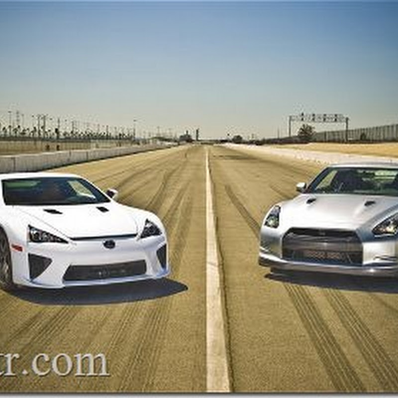 Lexus LF-A vs Nissan GT-R : Motor Trend Magazine