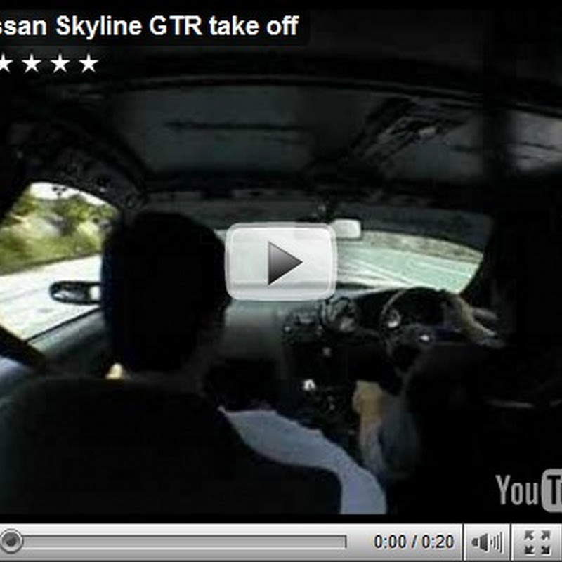 Nissan Skyline GT-R Acceleration Video