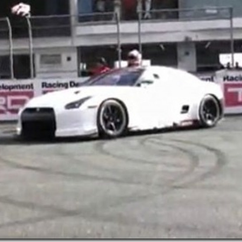 FIA GT1 Nissan GT-R Video From Nismo Festival