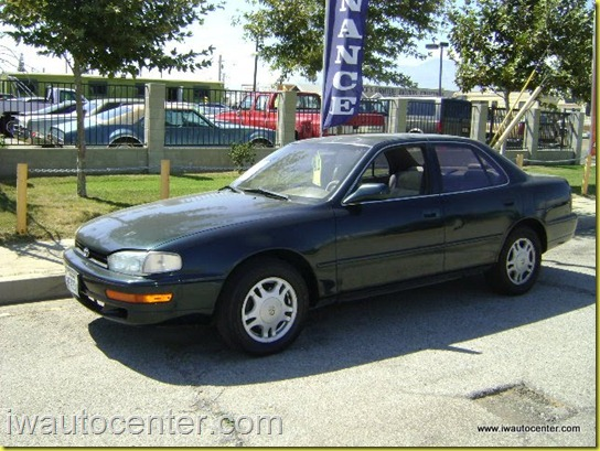 1993 toyota camry xle inland wholesale auto center. Black Bedroom Furniture Sets. Home Design Ideas