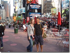me and kev times square