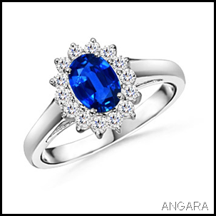 Angara's replica of Princess Diana Engagement Ring