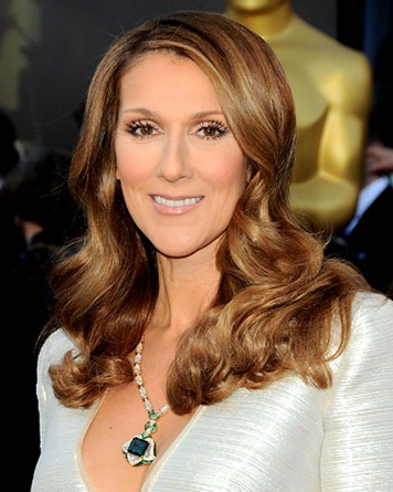 Celine Dion Jewelry Oscar 2011