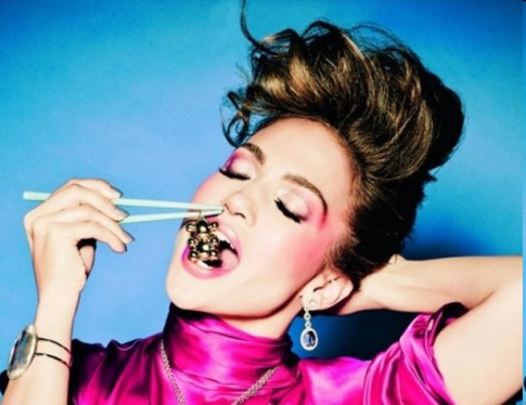 Jennifer Lopez's Jewelry Ad
