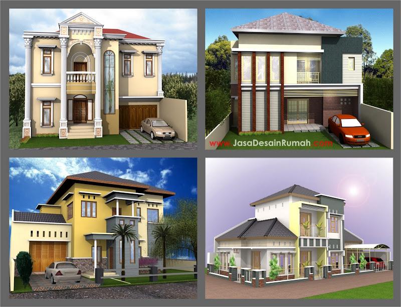 Pilihan Rumah Ukuran Besar yang dikerjakan Tim Jasa Desain Rumah ...