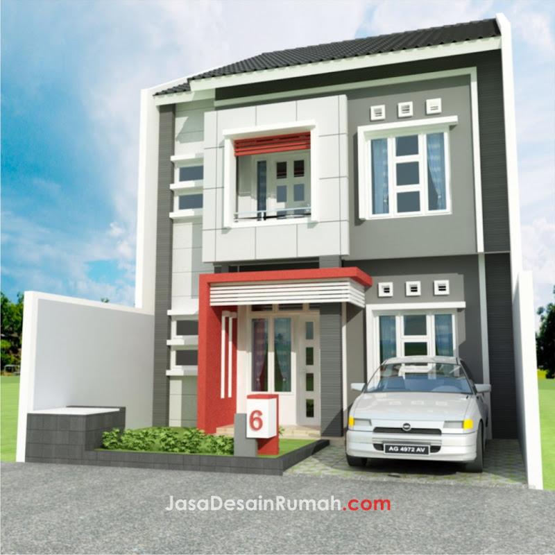 Rumah Modern 2 Lantai di Medan