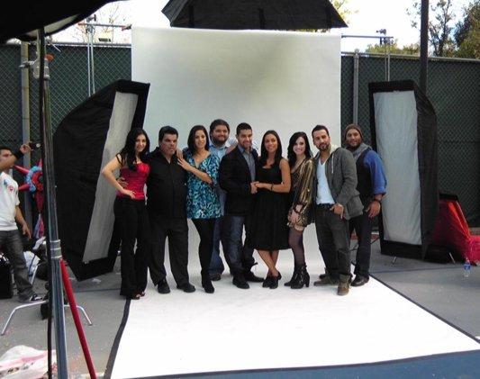 Demi Filma Anuncio para Latinos USA Demi-shoot-latinos-BDLT-4