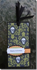 Halloween Bookmark Gift Closed