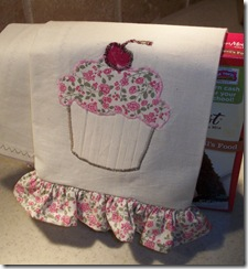 Cupcake Hand Towel and Super Secret Recipe