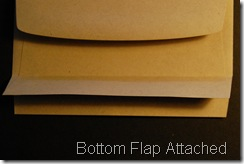 Step 4: Remove top flap from Bottom Edge