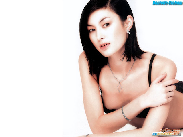 Malaysian Celebrity Super Model Danielle Peita Graham - Asia Top 10 Mixed Beauty
