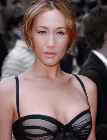 Asia Top 10 Mixed Beauty - Maggie Q
