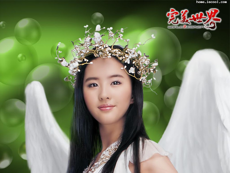 Crystal Liu Yi fei Wallpaper