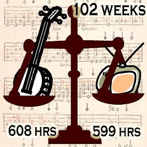 Banjo 608 hrs, TV ?? hours