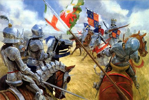 Localizan los restos de Ricardo III, el último rey inglés muerto en combate Bosworth%201485%20%C3%9Altima%20carga%20de%20Ricardo%20III