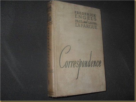 Buku Correspondence Frederick Engels, Paul and Laura Lafargue