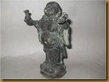 Patung Budda kuningan
