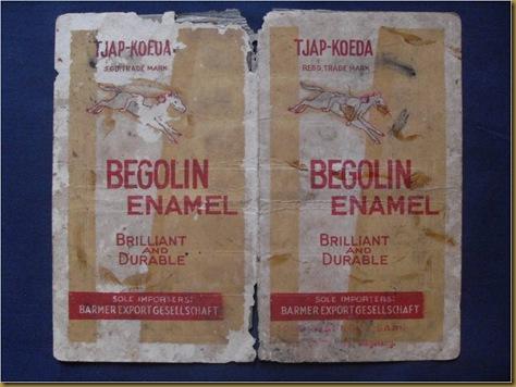 Katalog Begolin Enamel tjap koeda