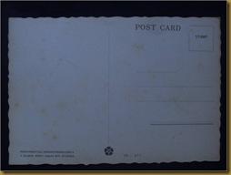 Post Card Penari Pendet Bali - balik